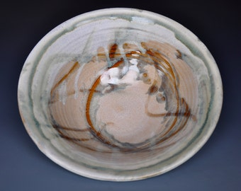 Ceramic Salad Bowl Pottery Serving Bowl A