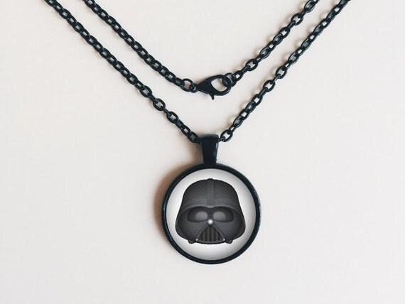Darth Vader from Star Wars Tsum Tsum Necklace or Keychain