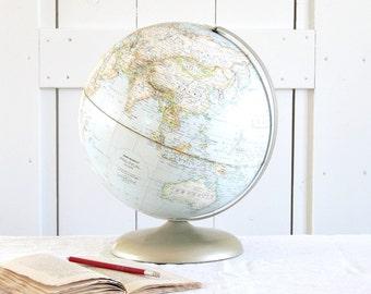 GREAT Vintage 12 inch Rand McNally Political World Globe