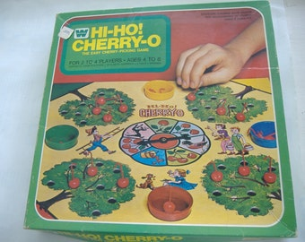 Hi-Ho! Cherry-O Game, Complete, Ages 4 to 8, 1973
