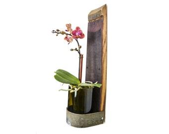 Reserved Listing for Duffylin  Aporum - Wine Barrel Vase Shelf