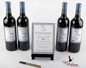 We Are The Originators of the Wine Bottle Guestbook - 100% Feedback plus Extra Pen and Easel
