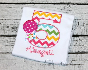 Girl's Lollipop Birthday Shirt, Girl's Candy Birthday, Sweet Shop Birthday, Candyland Birthday, Ages 1-9 available,