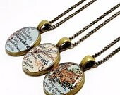 CUSTOM Vintage Map Necklace. You Select Location Worldwide. One Necklace. Travel Map Gifts for Mum. Mother's Day. Personalised Gift For Mum.