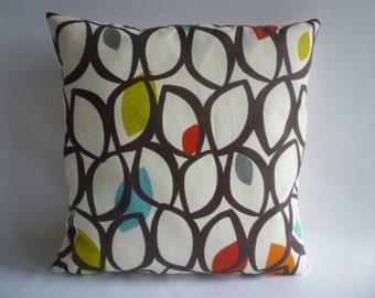 "BIG 20"" Pillow Orange Green Blue Designer Cotton Cushion Cover Pillowcases Shams Slips"