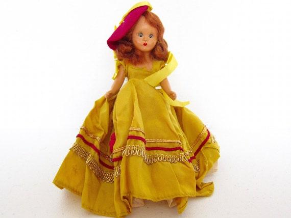 Storybook doll nancy ann doll vintage doll original clothes