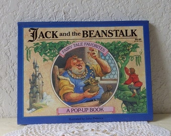 Jack and the Beanstalk Pop-up Book, Illustrated by John Patience, undated.