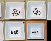 Personalized Ring Dish - Reserved for Jackie