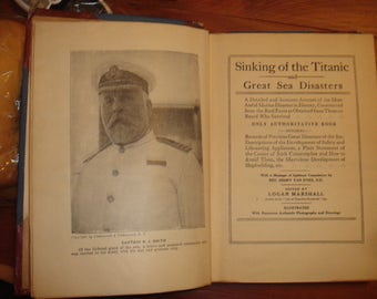 Sinking of the Titanic 1912, Logan Marshall