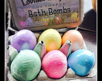 Bath Bomb Eggs | Easter | Easter Bunny | Easter Basket | Chicken | Farm | Egg Shaped Bath Bomb | Spring | Gift | Bath Bomb | Fizzy |Egg