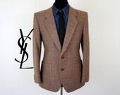 Vintage Yves Saint Laurent Wool Jacket - US/UK 39 - Medium