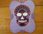 Lavender Sugar Skull...