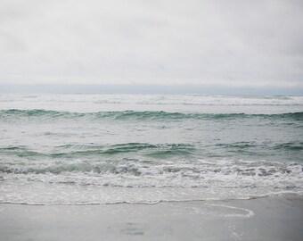 Manzanita Beach - Fine Art Photograph, Ocean, Beach, Sea, City, Oregon, Travel Photography, Wall Art, Room Decor