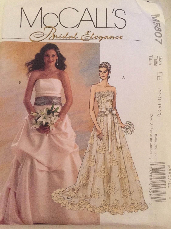 Modern Brautkleid Muster Zu Nähen Image Collection - Decke Stricken ...