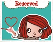 Reserved for Julia Stitch markers/ marqueurs de mailles