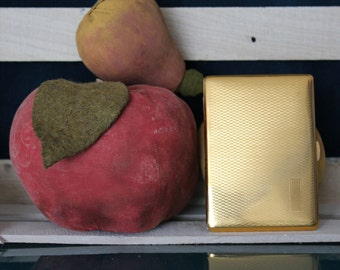 Comoy's of London Gold Cigarette Case