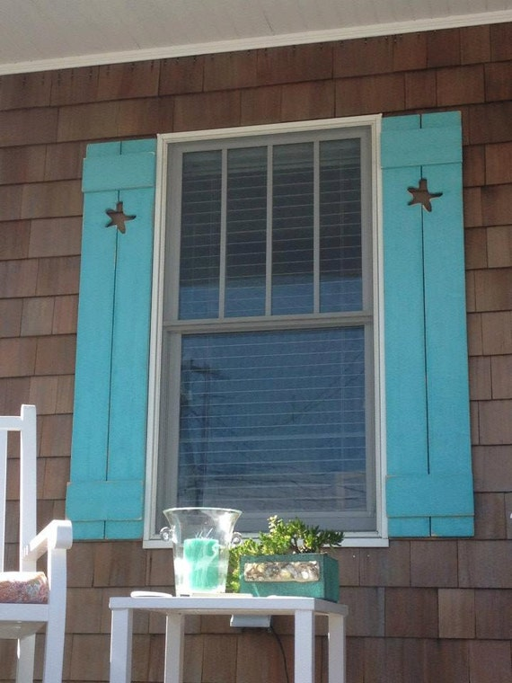 Shutter Exterior Interior One Cedar Wood Painted Or Unpainted