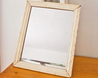 Vintage Mirror /  Shabby Chic / Farmhouse / Wall Mirror