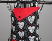 Hearts and Love Women's Apron