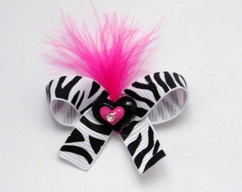 X Small Dog Hair Bow