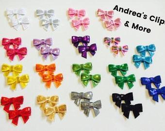 Glitter Bow, Bow Headband, Chunky Glitter, Spring Bow Headband, Glitter Bow Headband, Photo Prop