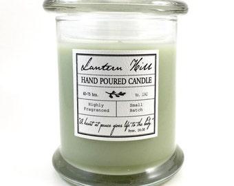 Green Tea - Hand Poured Candle - Highly Fragranced - long burning - multiple fragrances
