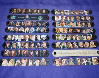 BOGO Sale Summer Clearance Wizard Magic Inspired Bracelets - Snape, Bellatrix, Dobby, Luna, Remus, Sirius & More