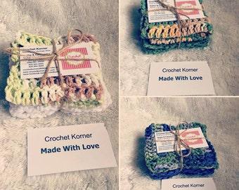 Crochet Korner Crochet Dishclothes Kitchen Wash Dishes Birthday Gift Old Fashion Cotton Any Thing Gift Teacher Photographer Wedding Gifts