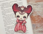 Alice in Wonderland - Queen of Hearts - bookmark - made to order