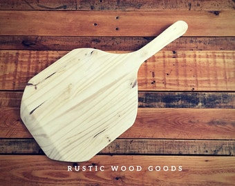 Handcrafted Wooden Pizza Paddles