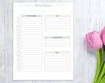 Day Planner, printable