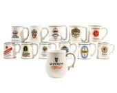 Set of 12 Franklin Mini Tankards - Beer Mugs