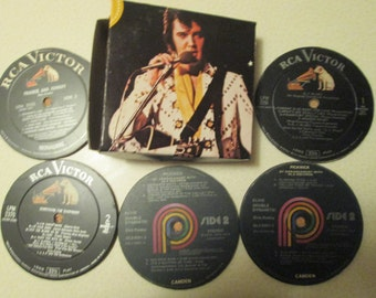 ELVIS COASTERS with box