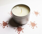 Mud Scented Candle - Vegan Candle - Homemade Candles - Natural Candles - Tin Candle - Container Candle