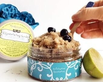 Sugar Facial Exfoliator Scrub - Exfoliator Facial Sugar Scrub for dry skin - Facial Exfoliator Scrub