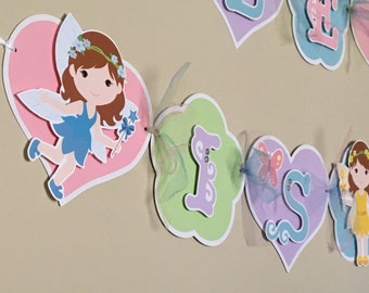 FAIRIES Birthday Party Banner Sign