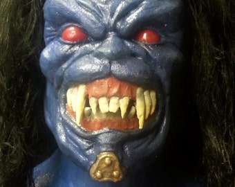 Goldar silicone mask from power rangers