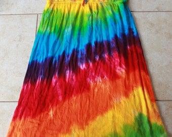 Tie dye rayon dress size 2X