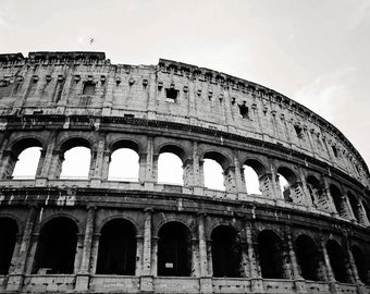 Rome, Italy -- Roman Coliseum Photograph-Europe Photographs-Various sizes