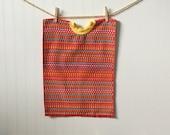 Towel Bib Red XL bib
