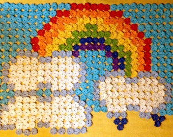 PDF Pattern Clouds and Rainbow Blanket