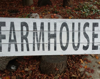 LARGE Farmhouse Sign / French Country Decor / Barnwood / Reclaimed wood / Country Farm Wall Decor / Country Kitchen Decor / Porch