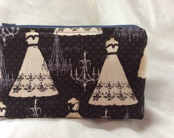 Ballgowns and Chandeliers Makeup Bag