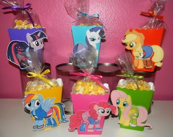 My Little Pony Snack Boxes - Set of 10