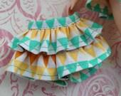Geometric tee pee Skort ~~ Skort/Shorts/Skirt for Blythe doll ~~ Skort ONLY ONE piece