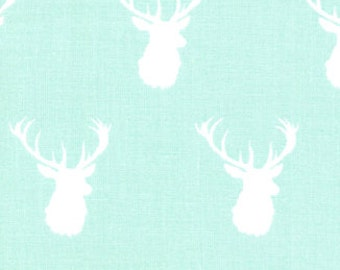 Mint Bucks - Quilting Cotton Fabric - BTY