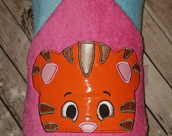 Custom Daniel Tiger Hooded Towel