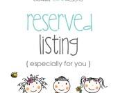Reserved listing for Brieanna Trowbridge - 6 gables