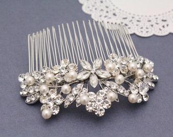 Bridal hair accessories,Wedding hair comb,Pearl hair clip,Wedding hair jewellery,Bridal headpiece,Wedding comb,Bridal hair clip,Wedding clip