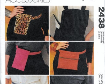 McCall's 2438 Purse Backpack Belt Bags Fanny Pack Sewing Pattern UNCUT